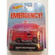 EMERGENCY Modellino Auto RAPID RESPONDER 1:64 Hot Wheels MATTEL