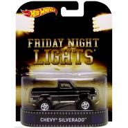 FRIDAY NIGHT LIGHTS Modellino Auto CHEVY SILVERADO 1:64 Hot Wheels MATTEL