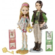 Ever After High BOX 2 FIGURE 2-Pack Ashlyn Ella e Hunter Huntsman