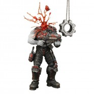 GEARS OF WAR Action Figure HEADSHOT Locust Drone 18cm COG TAGS NECA Official