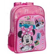 DISNEY School Bag MINNIE MOUSE 40x30cm Original Official MICKEY