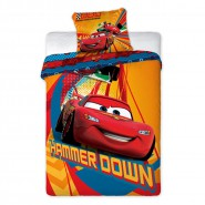 BED SET Duvet Cover CARS Saetta McQueen and LARRY CABLE Disney ORIGINAL