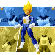DRAGONBALL Figura Action SUPER SAIYAN VEGETA Premium Color Bandai SHF Figuarts