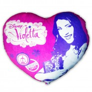 VIOLETTA Very Big PILLOW Heart ENORMOUS XXL 70cm Original DISNEY