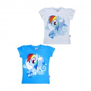 MY LITTLE PONY T-Shirt UFFICIALE Originale RAINBOW DASH Nuova QUALITA' TOP Entra