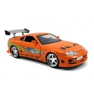 FAST and FURIOUS Model BRIAN's 1995 TOYOTA SUPRA MK.IV Orange 1:24 Original JADA