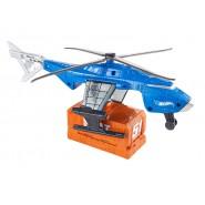 PLAYSET Modello Elicottero SUPER SWAT COPTER Originale MATTEL Hot Wheels