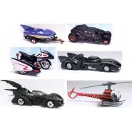 Modellino Veicolo BATMAN Auto MATTEL HOT WHEELS Scala 1/50 Dark Knight DIE CAST