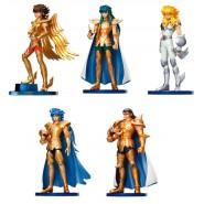 Set 5 Trading Figures SAINT SEIYA AGARUMA Vol 1 Original BANDAI Zodiac Knights