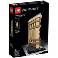 FLATIRON BUILDING Diorama LEGO ARCHITECTURE 21023 NEW YORK