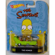 The SIMPSONS Modellino Auto VEICOLO SPAZIALE di HOMER SIMPSON 1:64 Hot Wheels MATTEL