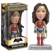 BATMAN vs SUPERMAN Figura WONDER WOMAN Bobble Head 15cm Originale FUNKO Wobbler DC