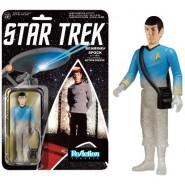STAR TREK Action Figure SPOCK Teletransporting PHASING 10cm FUNKO ReAction
