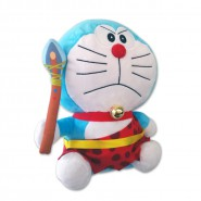 DORAEMON King PRIMITIVE Rare Plush BIG 45cm TAITO Movie BIRTH OF JAPAN 2016