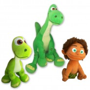 THE GOOD DINOSAUR Set 3 PLUSHIES Big 25-35cm ORIGINAL Official DISNEY