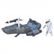 STAR WARS Kit Vehicle SNOWSPEEDER and Figure SNOWTROOPER Hasbro DISNEY Lucasfilm