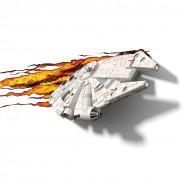 MILLENNIUM FALCON Star Wars LAMPADA LED Notturna Muro Parete 3D LIGHT Philips