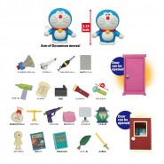 DORAEMON Complete Series of 25 Mini FIGURES Secret Tools Dokodemo DOOR Ciusky