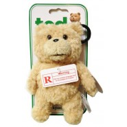 UNCENSORED RED VERSION Bear TED Plush Keyring 15cm TALKING Original THUNDER SONG etc.