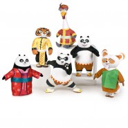 KUNG PANDA 3 Big Plush 30cm Choose Your Character ORIGINAL PlayByPlay PO SHIFU TIGER PING MEI MEI