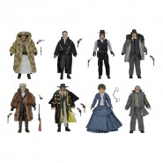 THE HATEFUL EIGHT Set 8 Action FIGURES 18cm Limited EDITION Neca QUENTIN TARANTINO