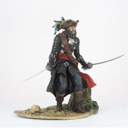 BOX NON 100% Statua BLACKBEARD Barbanera PIRATA Leggendario UBISOFT Assassin's CREED IV Figura BLACK FLAG