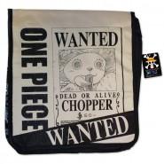 ONE PIECE Messenger Bag TONY TONY CHOPPER Wanted 35x32cm Original Official JAPAN Shoulder