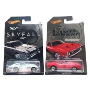 007 JAMES BOND Set 2 Models CAR Scale 1:64 MATTEL Hot Wheels DIE CAST