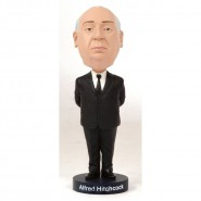 Figure ALFRED HITCHCOCK 20cm BOBBLE HEAD Resin ROYAL BOBBLES Head knocker