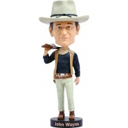 Figura JOHN WAYNE CowBoy The Duke 20cm BOBBLE HEAD Resina ROYAL BOBBLES Head knocker