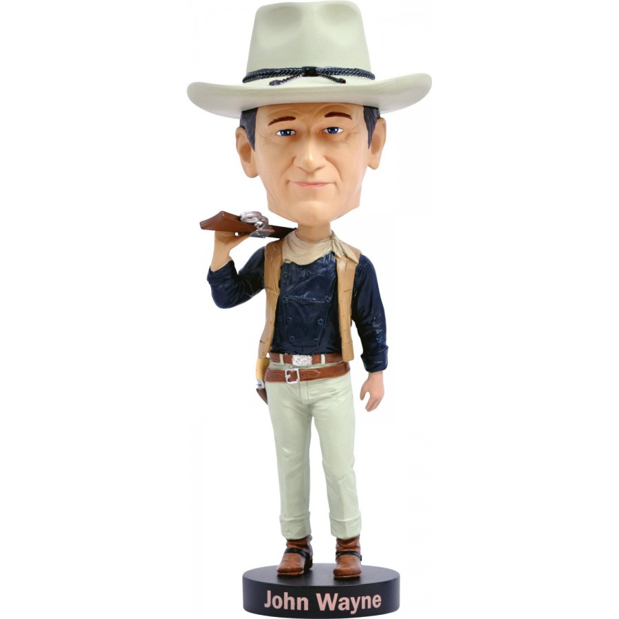 Figure JOHN WAYNE The Duke 20cm BOBBLE HEAD Resin ROYAL BOBBLES ...