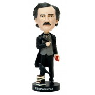 Figure EDGARD ALLAN POE 20cm BOBBLE HEAD Resin ROYAL BOBBLES Head knocker