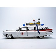 GHOSTBUSTERS Modello Auto ECTO-1 HERITAGE Scala 1:18 Hot Wheels MATTEL