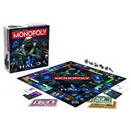 MONOPOLY Board Game HALO Version (English) Official HASBRO