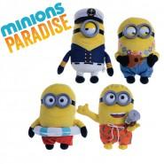 MINIONS PARADISE Stupendo PELUCHE 27cm MINION Scelta Personaggio TOP Gift QUALITY Originale