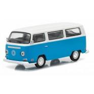 Modellino AUTOBUS DHARMA Dal Telefilm LOST Volkswagen 1971 Type 2 Bus SCALA 1/64 DieCast Greenlight