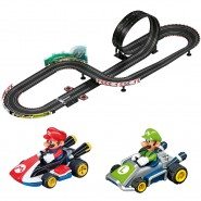 Electric SLOT CAR Racing MARIO KART 8 Models MARIO and LUIGI 1:43 OFFICIAL Carrera GO Nintendo
