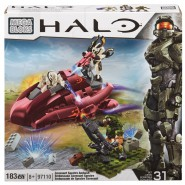 HALO Playset COVENANT SPECTRE AMBUSH Building Set MEGA BLOKS 97110