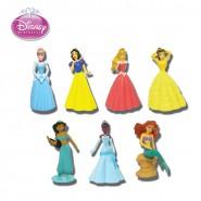 Set 7 Figure PRINCIPESSE DISNEY Princess BUILDABLE FIGURES Originali TOMY