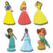 Figua PRINCIPESSA DISNEY Princess BUILDABLE FIGURE Originali TOMY a scelta