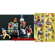 Set 6 Figure EVA GIRLS Evangelion Gals PART 4 Originali BANDAI JAPAN