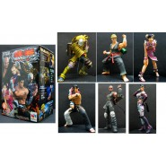 RARO SET 6 FIGURES Collection TEKKEN 5 Trading Figure MEGAHOUSE JAPAN