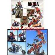 RARO Set 6 Figure AKIRA Part 3 10cm Originali KAIYODO Japan Figures THE 3rd