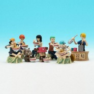 RARO Set 7 Figures ONE PIECE Diorama World PART 4 BANDAI JAPAN Dioramaworld