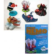 Set 5 Trading Figures Diorama FINDING NEMO Original DISNEY Pixar TOMY Japan