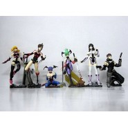 Set 7 Figure SEGA GALS COLLECTION Sexy Girls Originali BANDAI JAPAN