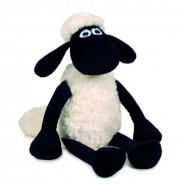 PELUCHE Enorme SHAUN THE SHEEP Gigante 80cm Pecora ORIGINALE Plush Original NEW