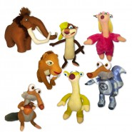 Plush ICE AGE 5 Collision Course 30cm YOU CHOOSE Official