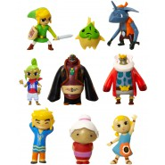 LEGEND OF ZELDA Windwaker SET 3 Mini FIGURE Nintendo MICRO LAND Originale JAKKS PACIFIC