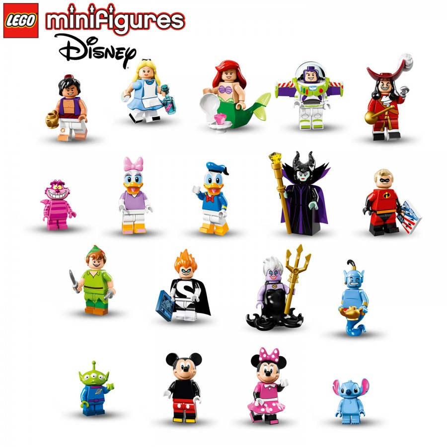 Lego Minifigures Disney Series 71012 Figure You Choose New